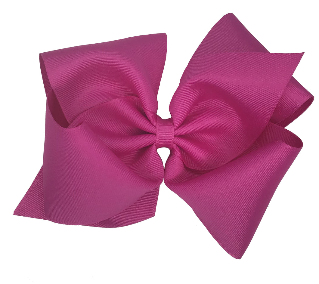 WEE ONES GROSGRAIN WILD BERRY BOW WLB