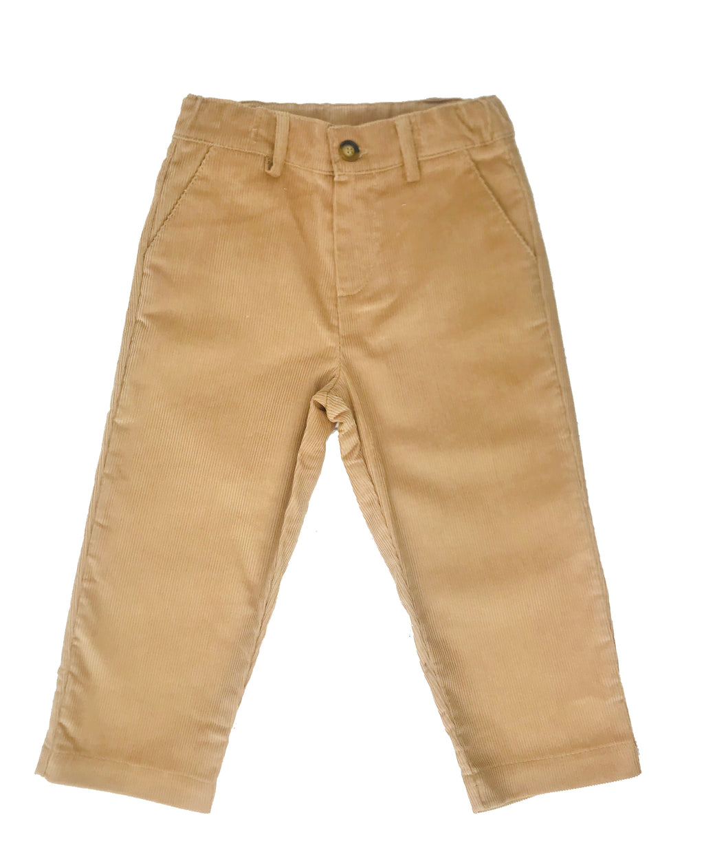 PEGGY GREEN- TOAST CORDUROY TAILORED PANTS