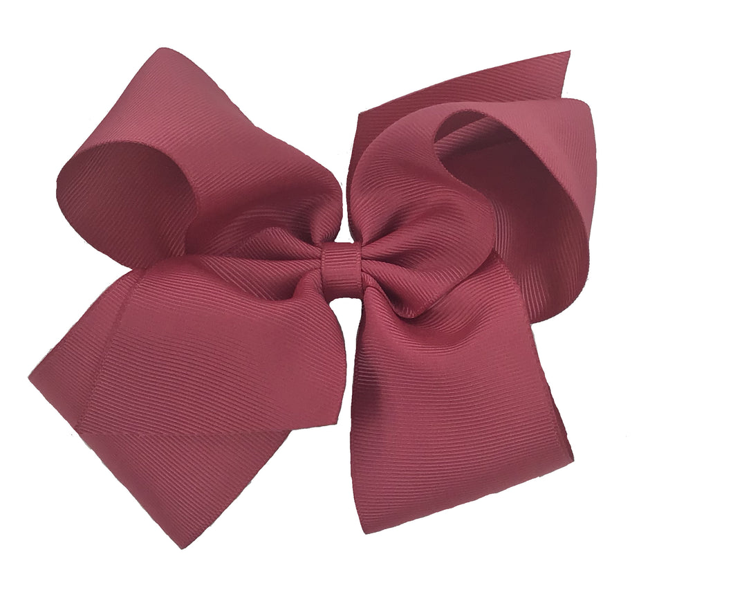 WEE ONES GROSGRAIN COLONIAL ROSE BOW COL