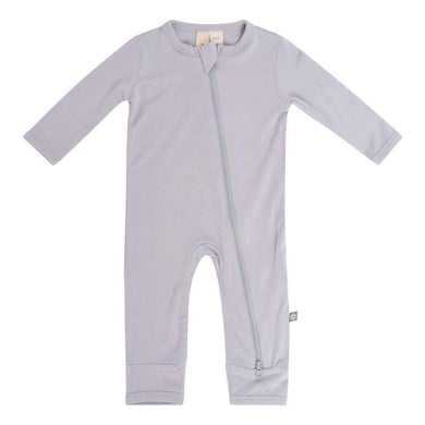 KYTE BABY ZIPPERED ROMPER STORM