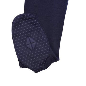 KYTE BABY ZIPPERED FOOTIE NAVY