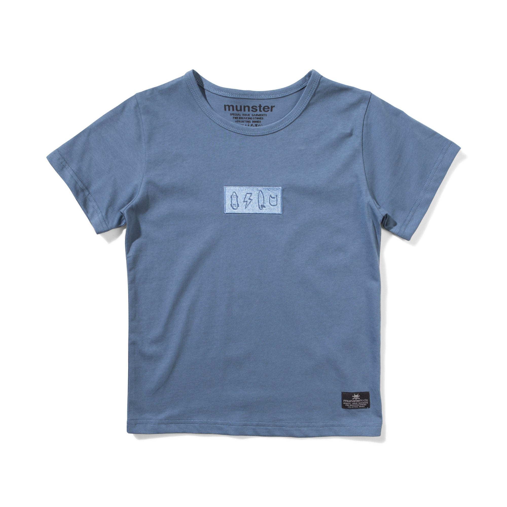 BRANDED TEE BOYS CLOTHING MUNSTER 3 BLUE