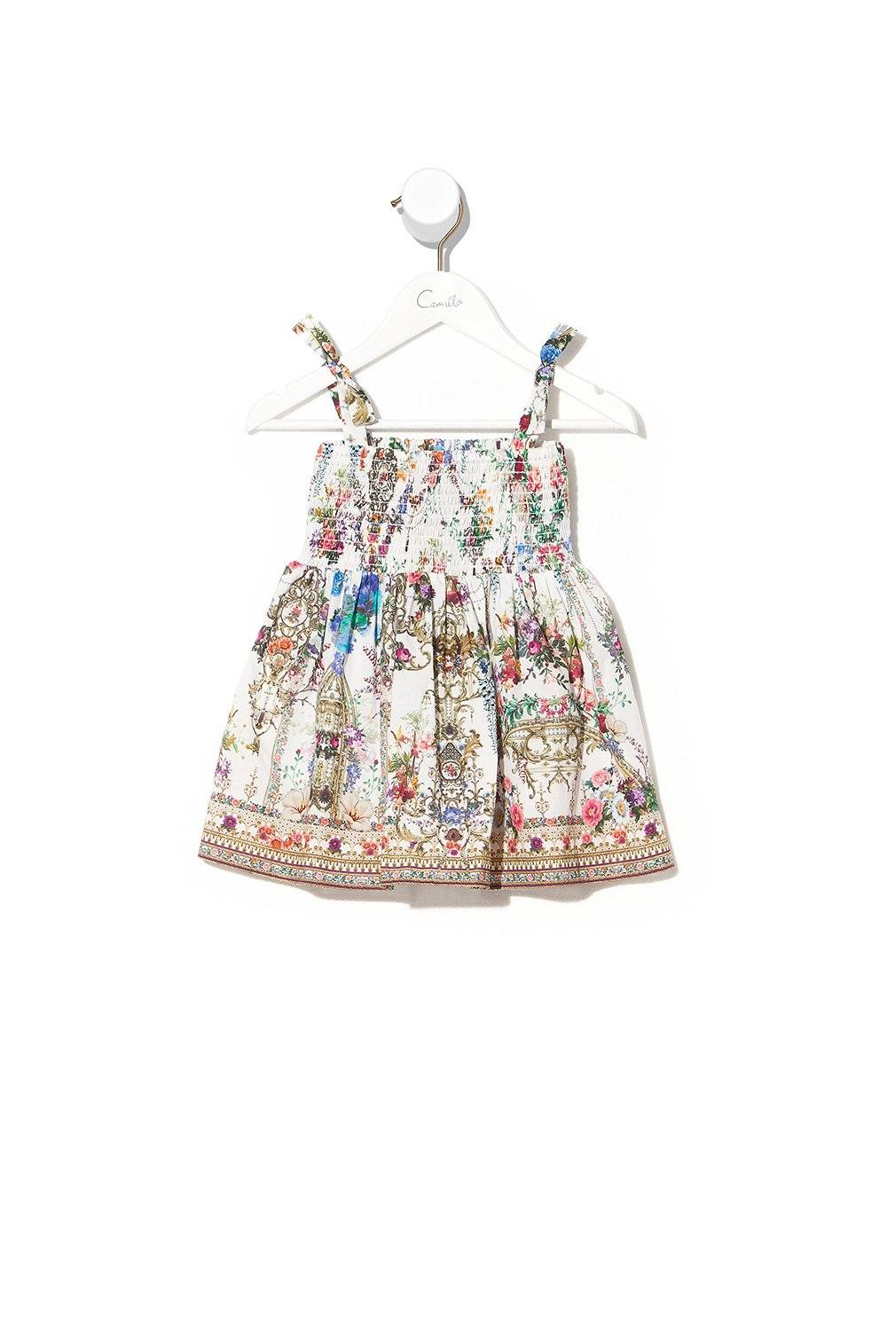 By the Meadow Babies Dress with Shirring BABY CLOTHING CAMILLA