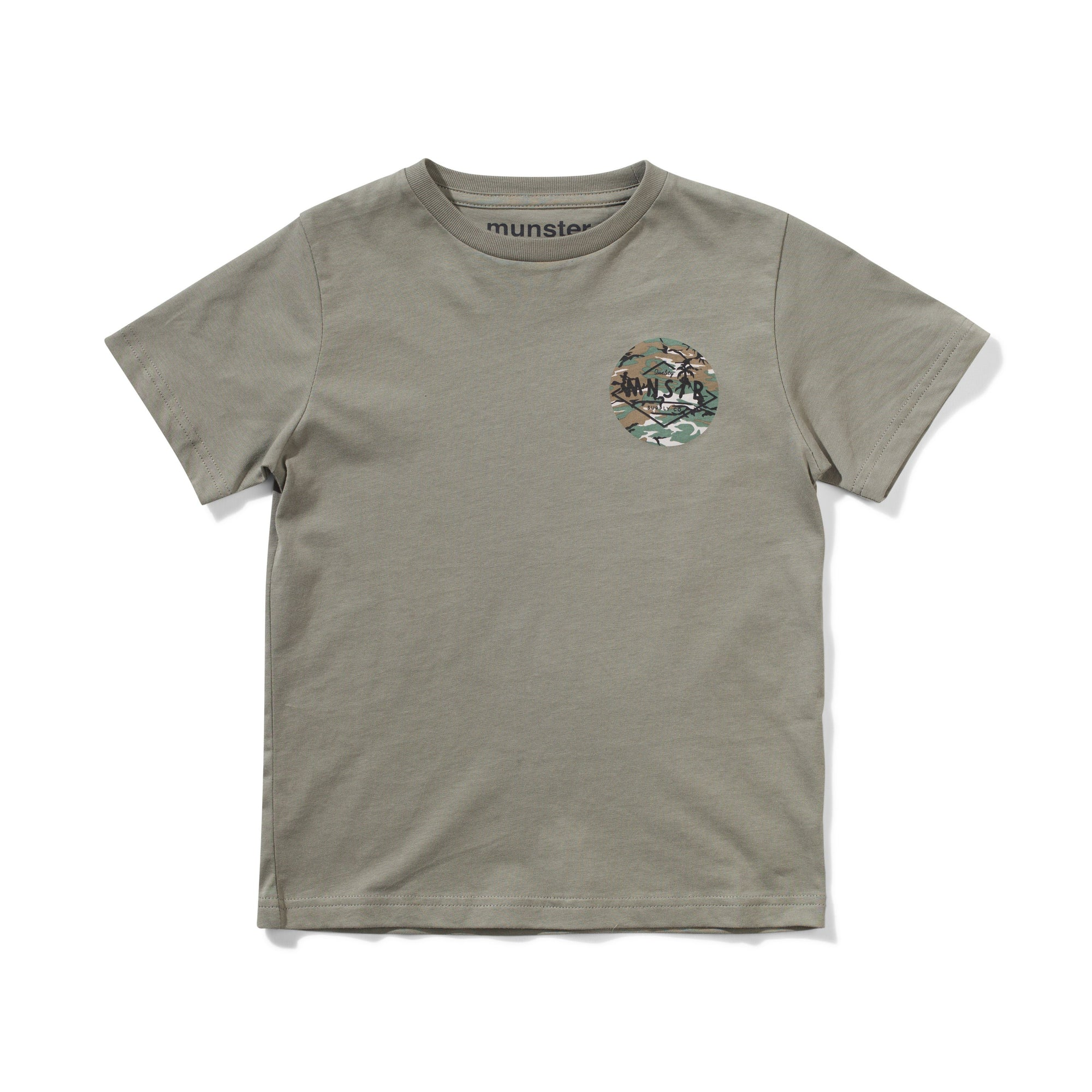 CAMOSINCE TEE BOYS CLOTHING MUNSTERKIDS