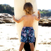 Castaway Boardie GROMS SWIMWEAR SALTY INK