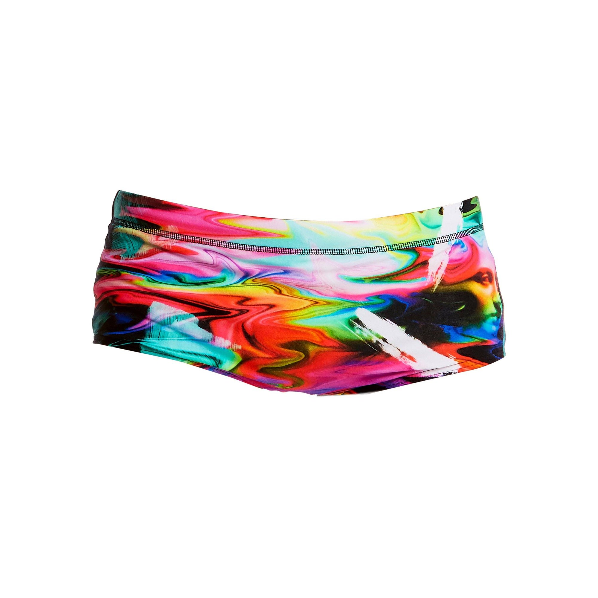 Boys Colourful Classic Trunks