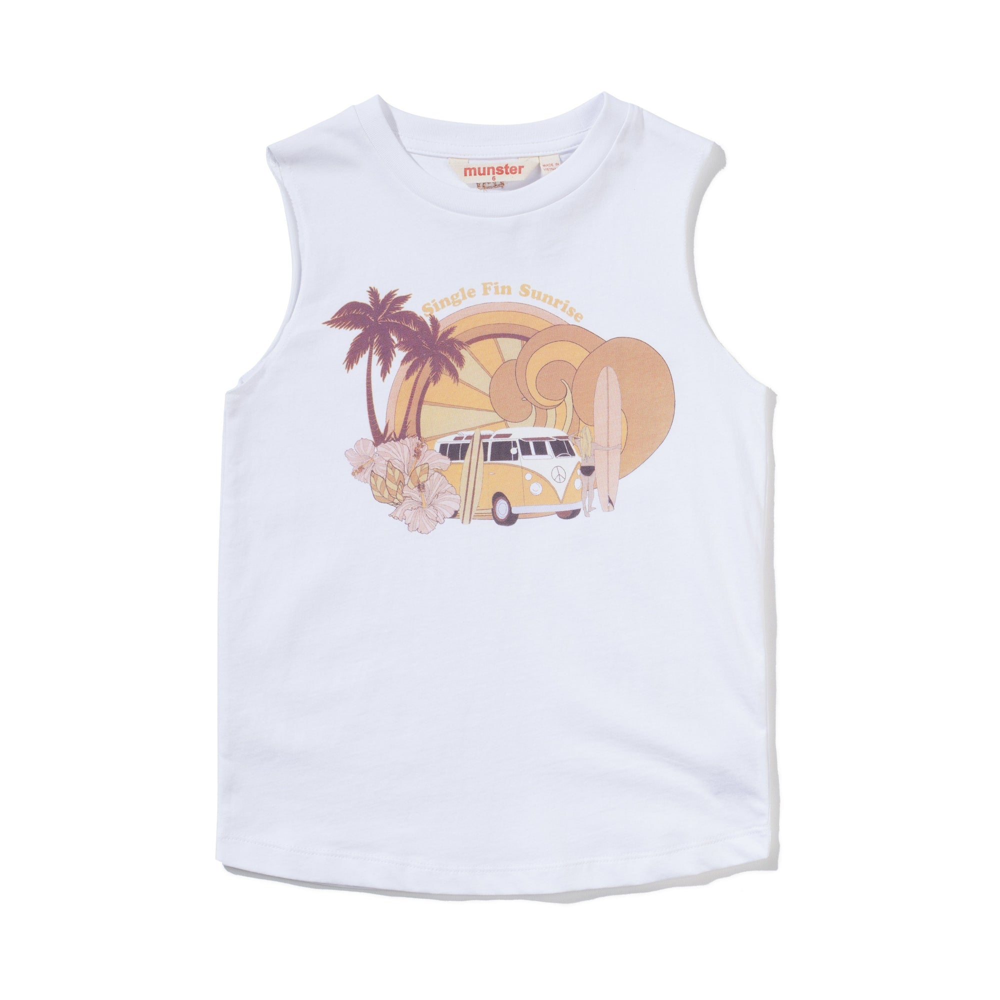 COMBI TANK GIRLS CLOTHING MUNSTERKIDS