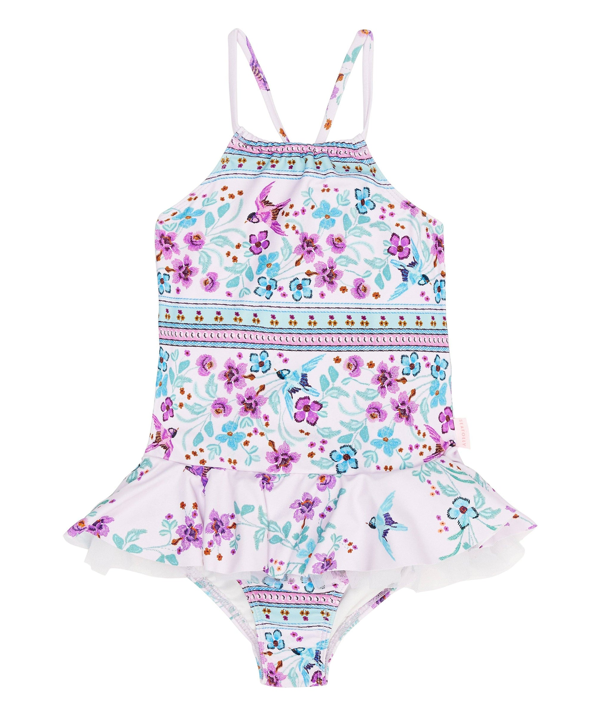Folklorica Apron Tank LITTLE GIRLS SWIMWEAR SEAFOLLY