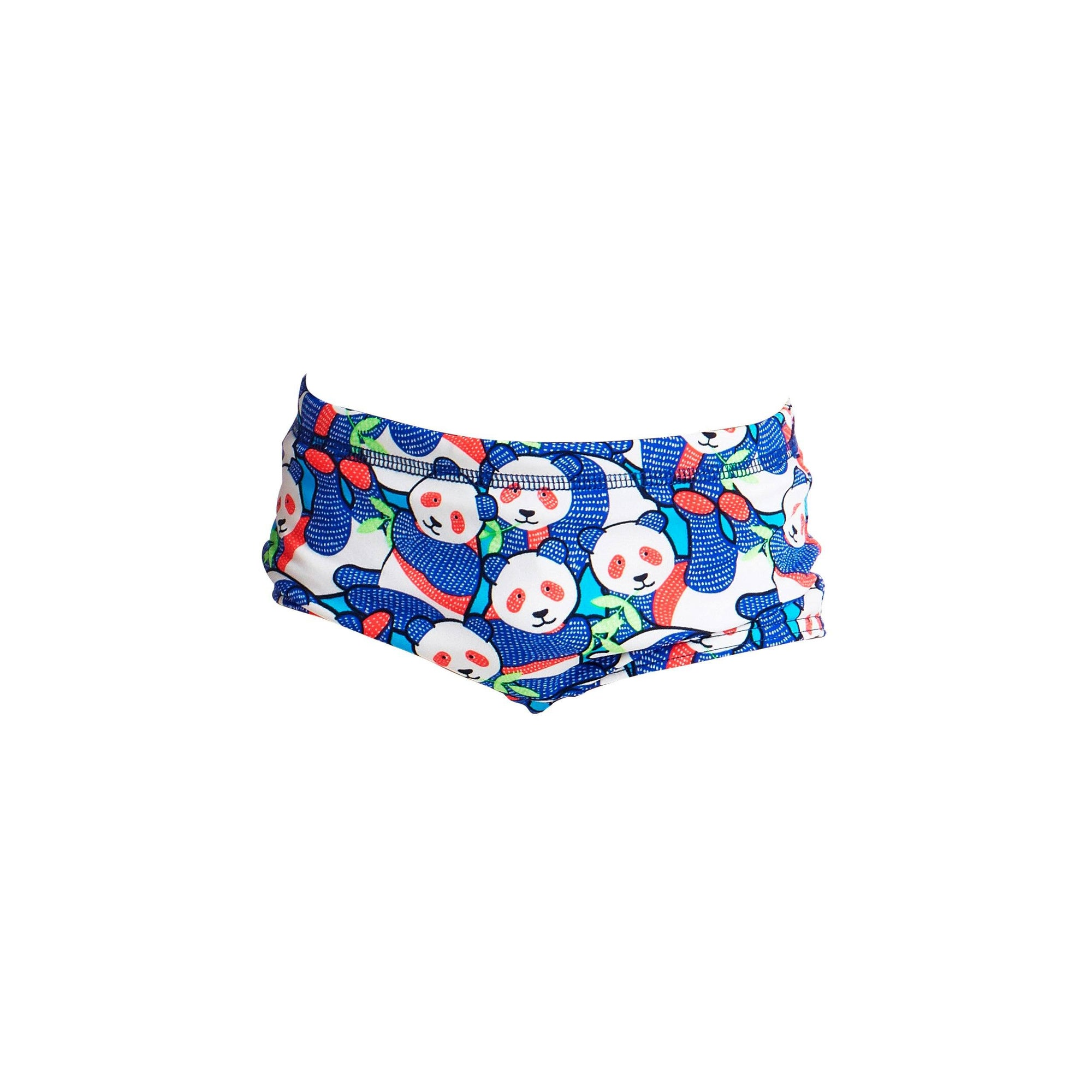 Funky Trunks Pandamania Eco Trunks GROMS SWIMWEAR FUNKY TRUNKS