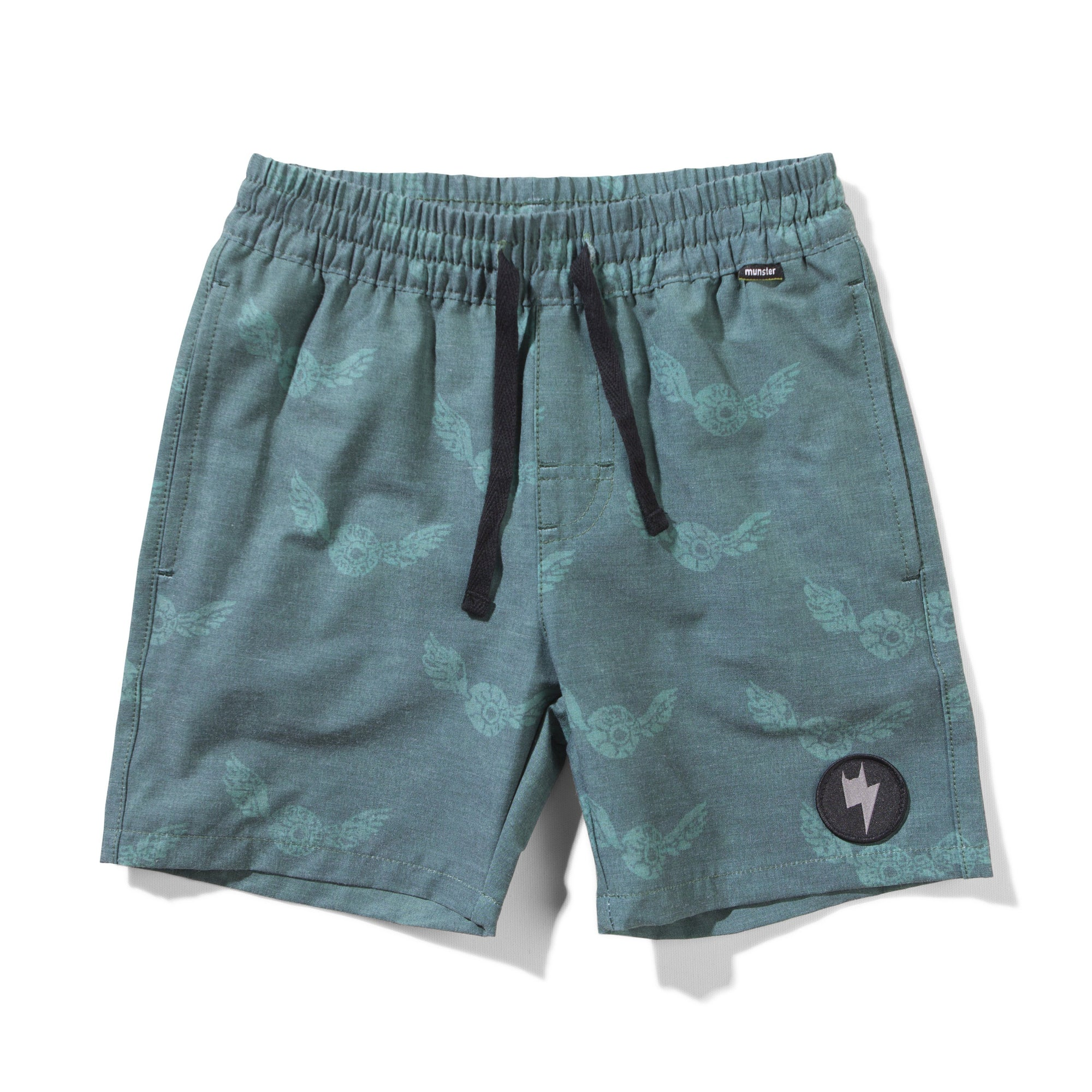 ISEEYOU BOARD SHORT BOYS SWIMWEAR MUNSTER 3 TEAL