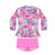 Miss Stardust L/S Sunvest Set LITTLE GIRLS SWIMWEAR SALTY INK
