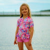Miss Stardust Playsuit LITTLE GIRLS SWIMWEAR SALTY INK