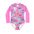 Miss Stardust Sunsuit LITTLE GIRLS SWIMWEAR SALTY INK