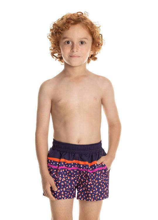Neon Leaves Trunks BOYS SWIMWEAR MAAJI
