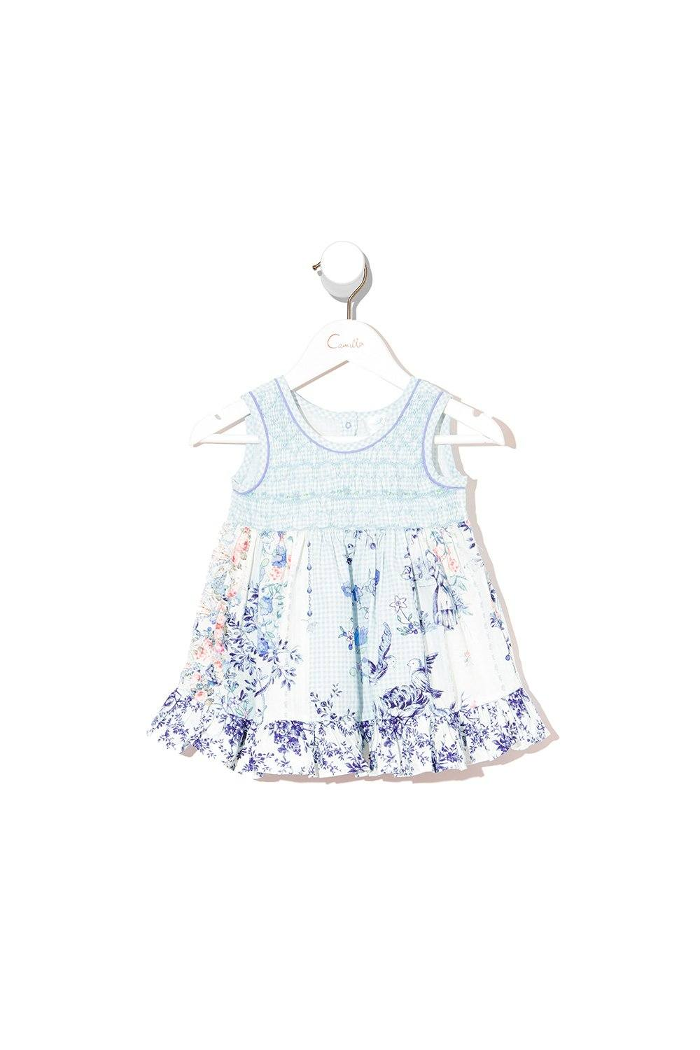Petit Dreamer Babies Dress with Shirring BABY CLOTHING CAMILLA