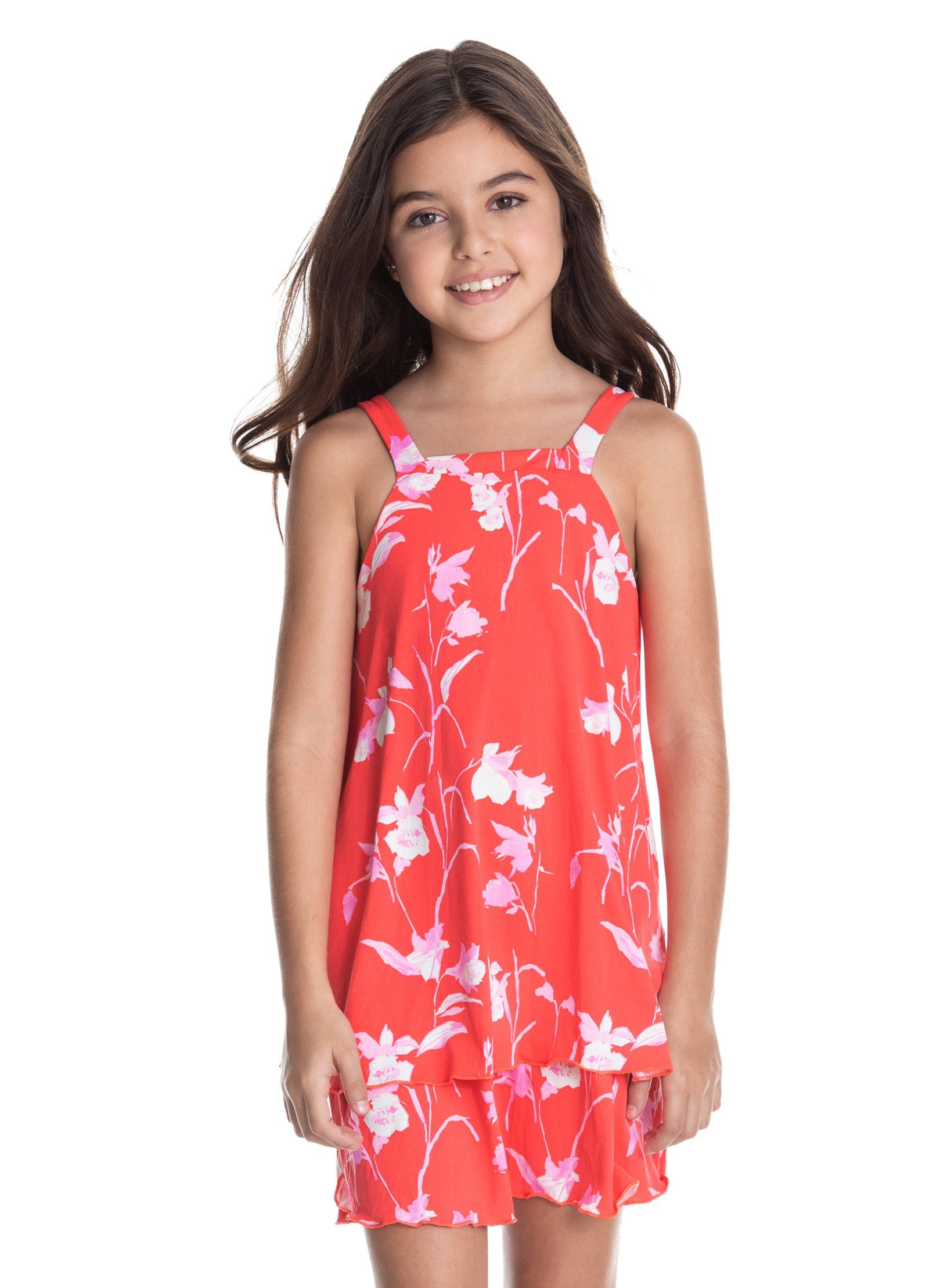Petite Rose Short Dress LITTLE GIRLS CLOTHING MAAJI