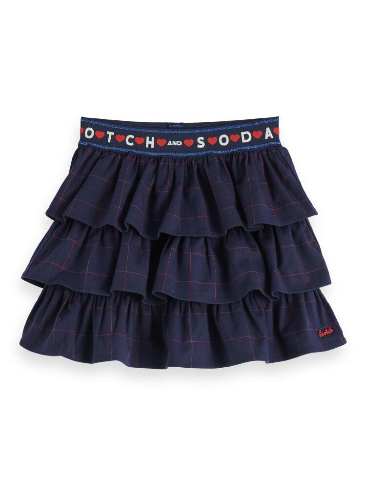 Ruffle Skirt with Elastic Waist GIRLS CLOTHING SCOTCH RBELLE