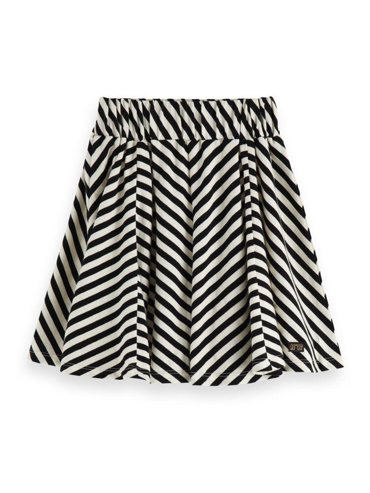 Striped Mini Length Skirt in Yarn Dye GIRLS CLOTHING SCOTCH RBELLE