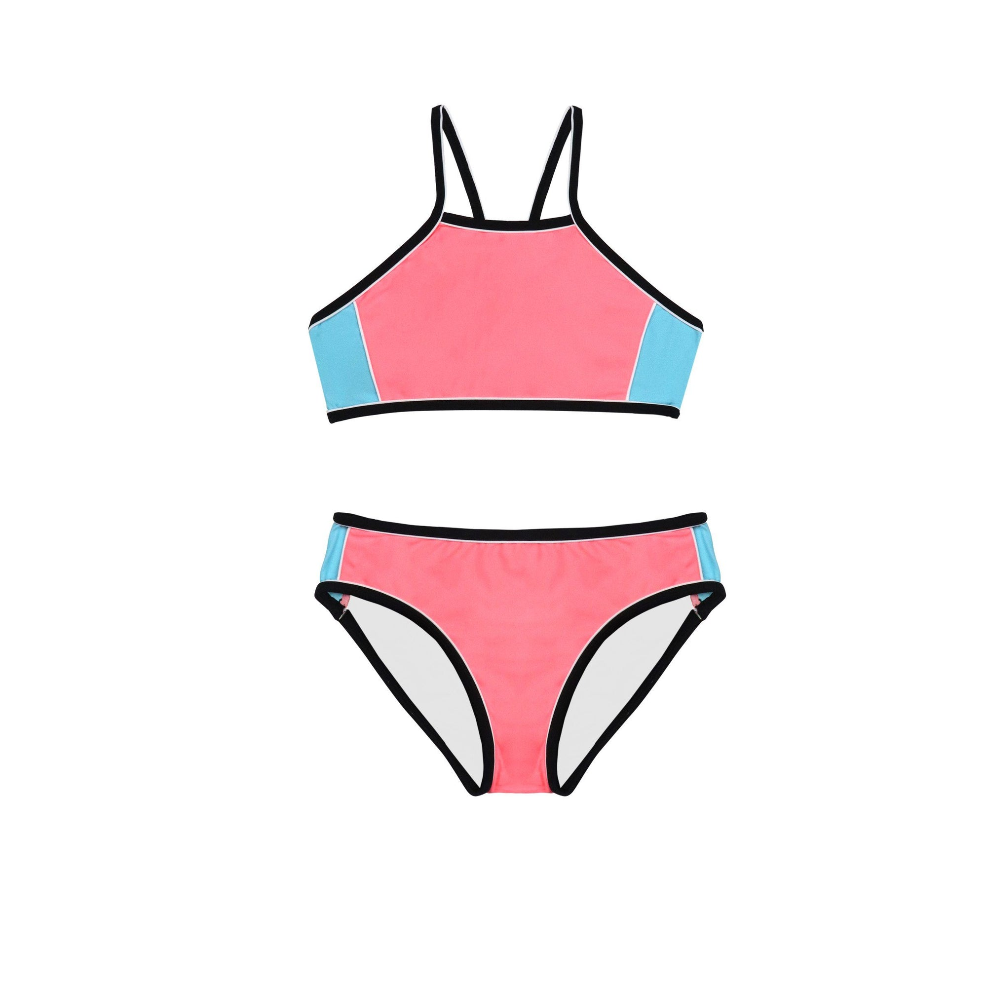 Summer Tribe Bikini GIRLS SWIMWEAR SALTY INK 8 PEACH