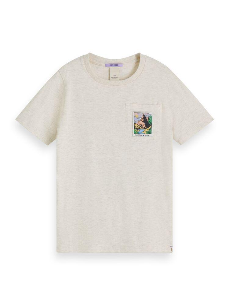 Tee with Scenery Art BOYS CLOTHING SCOTCH SHRUNK