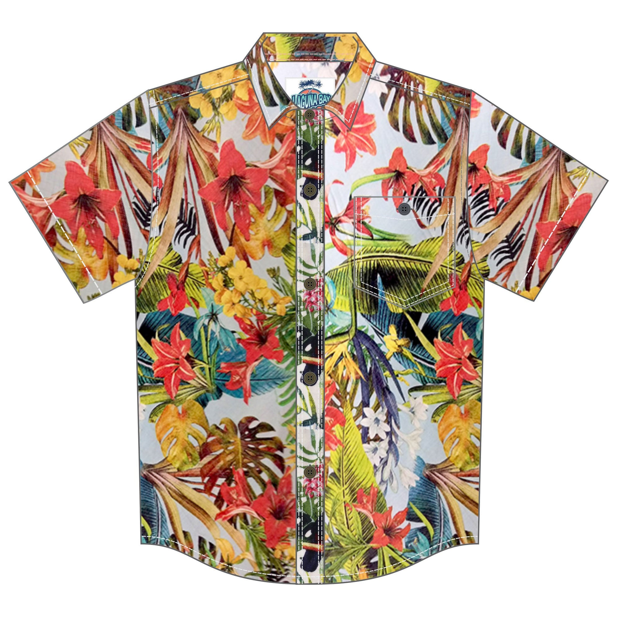 The Noosa Shirt - Laguna Bay Original GROMS CLOTHING Laguna Bay