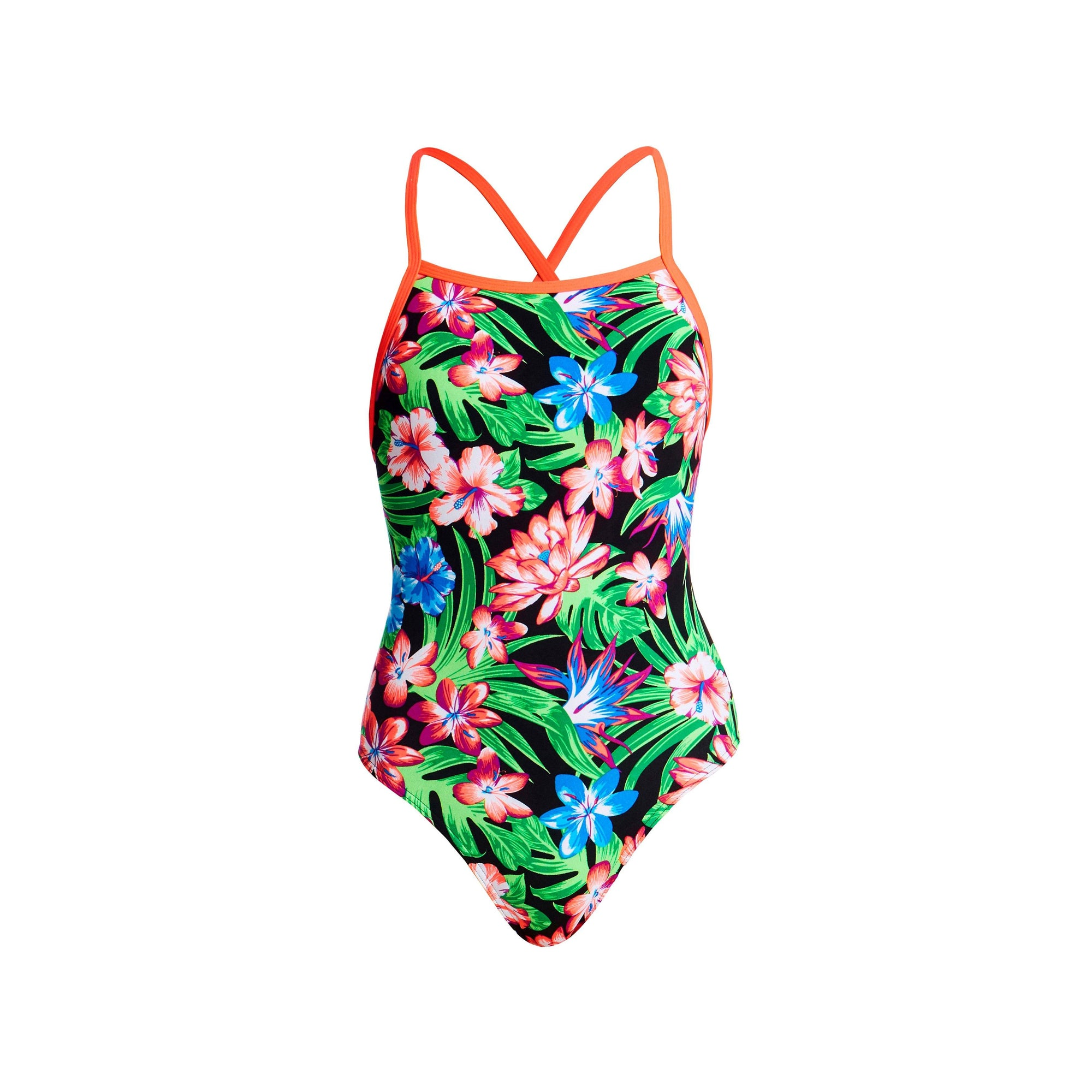 Tropic Rocket Tie Me Tight One Piece GIRLS SWIMWEAR FUNKITA