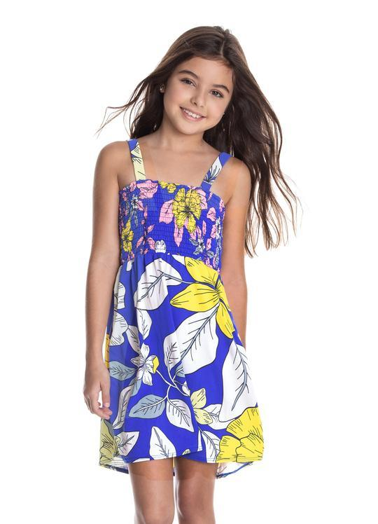 Windflower Short Dress LITTLE GIRLS CLOTHING MAAJI
