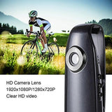 Mini Body Camera 1080P HD Portable Pocket Clip Wearable Video Recorder - Hidden Cameras