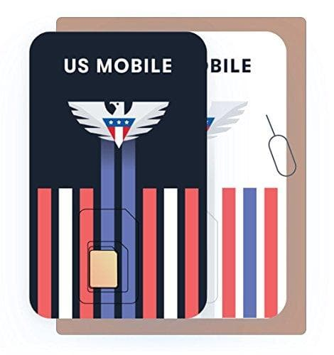 US Mobile 3 - in -1 Prepaid SIM Card (Recommended) - SIM Cards