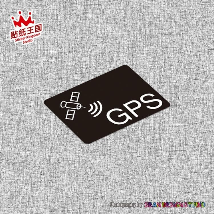 GPS TRACKING Sticker Decal Waterproof Reflective Vehicle