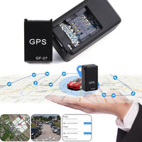 GF-07 Mini GPS Tracker Vehicle Strong Magnetic Locator Tracking Object - GPS Trackers