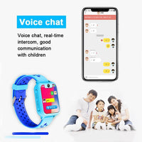 Kid Smartwatch Full Color Screen Child Waterproof - Smartwatch