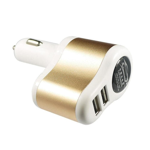 Car GPS Dual USB Charger Locator Real Time Tracking - GPS Trackers