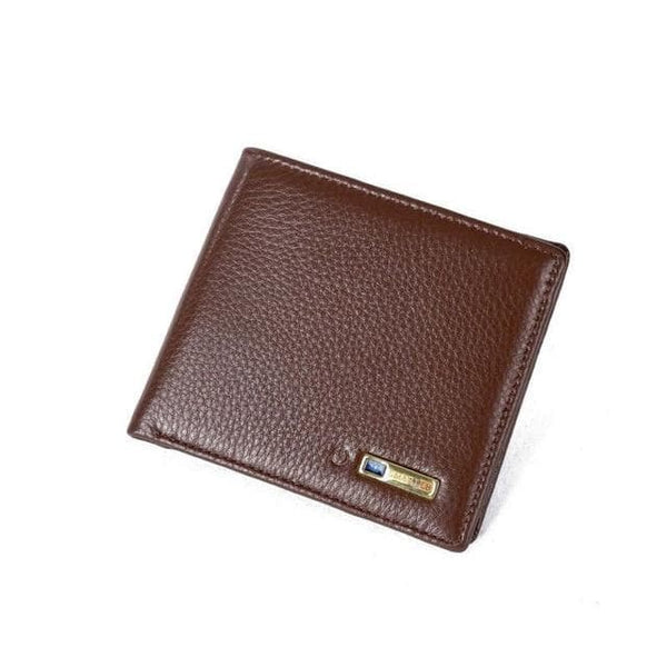 Genuine Leather Smart Wallet Billfold Bluetooth GPS - GPS Trackers
