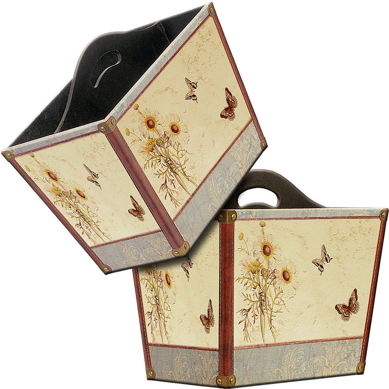 Summer Meadow Magazine Holder 36x22x32cm