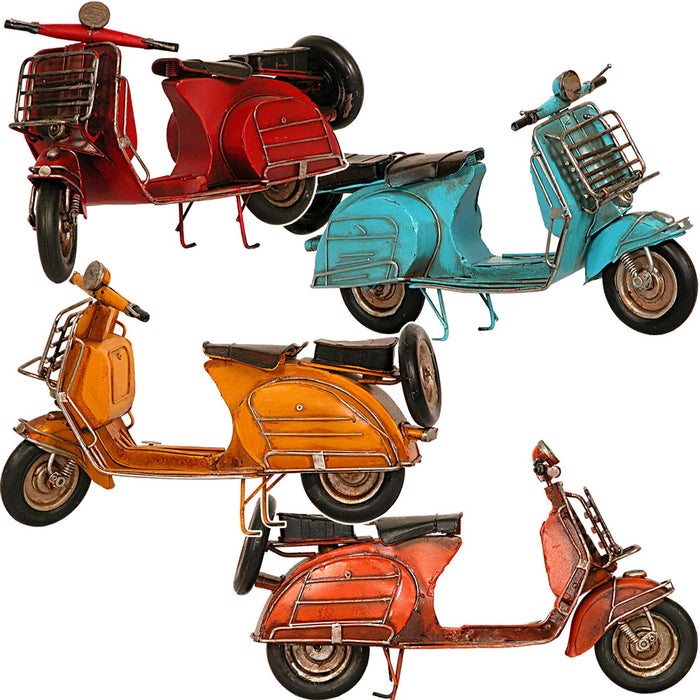 Classic Metal Vespa Scooter Ornament