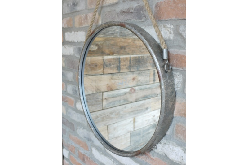 Wall Hanging Circle Mirror