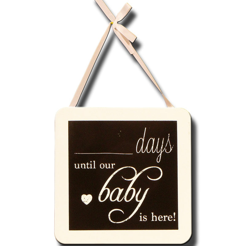 Days Until Baby Blackboard