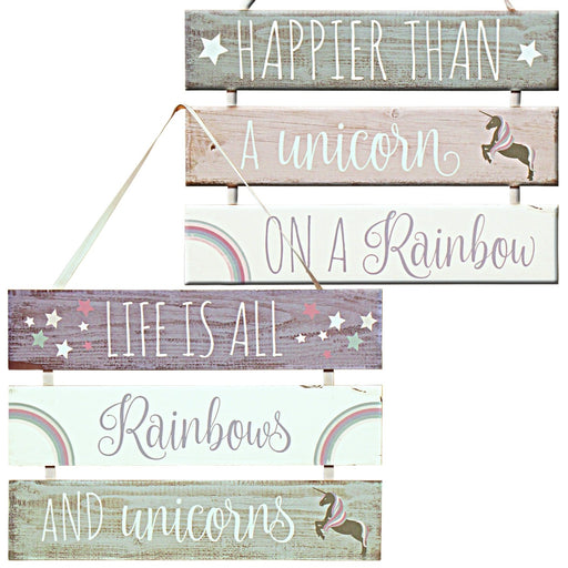 3-Tier Unicorn Plaque