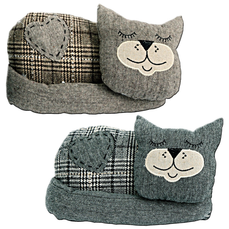 Plush Sleeping Cat Doorstops