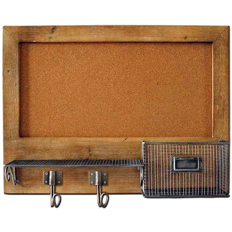 Heartwood Wall Cork Board w. Storage