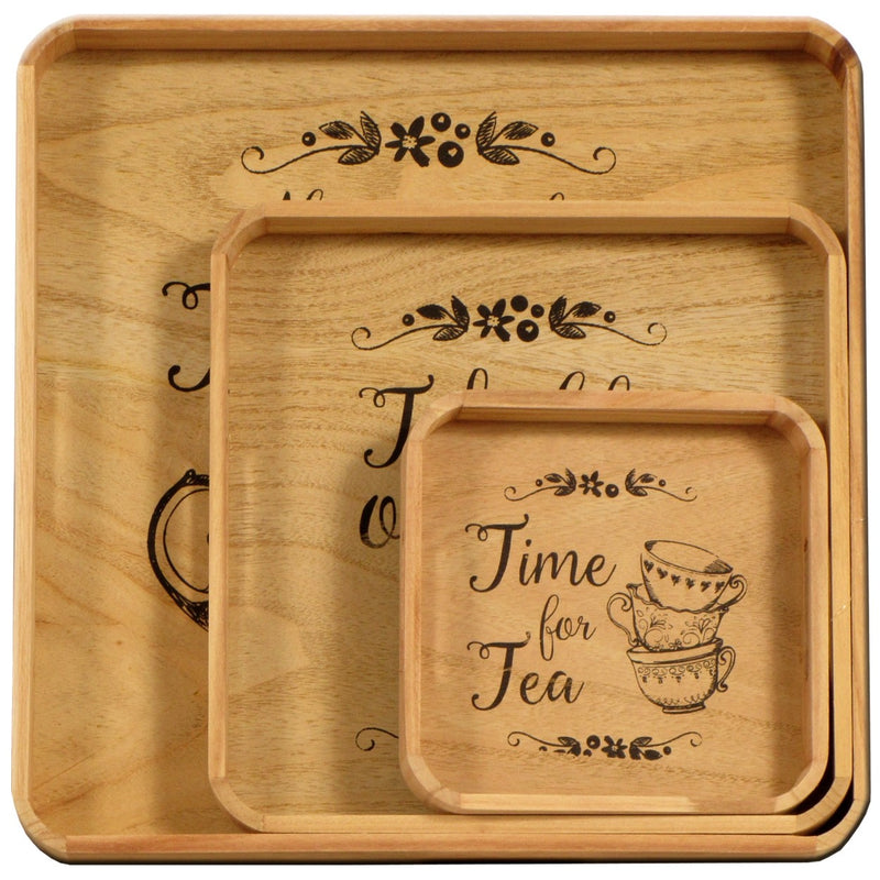 Heart of the Home Trays Set/3