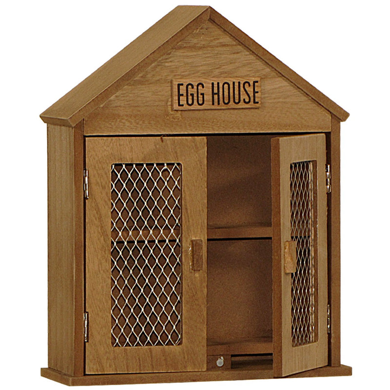 Rustic Wood Egg House