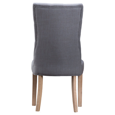 Imperial Chair Grey Fabric