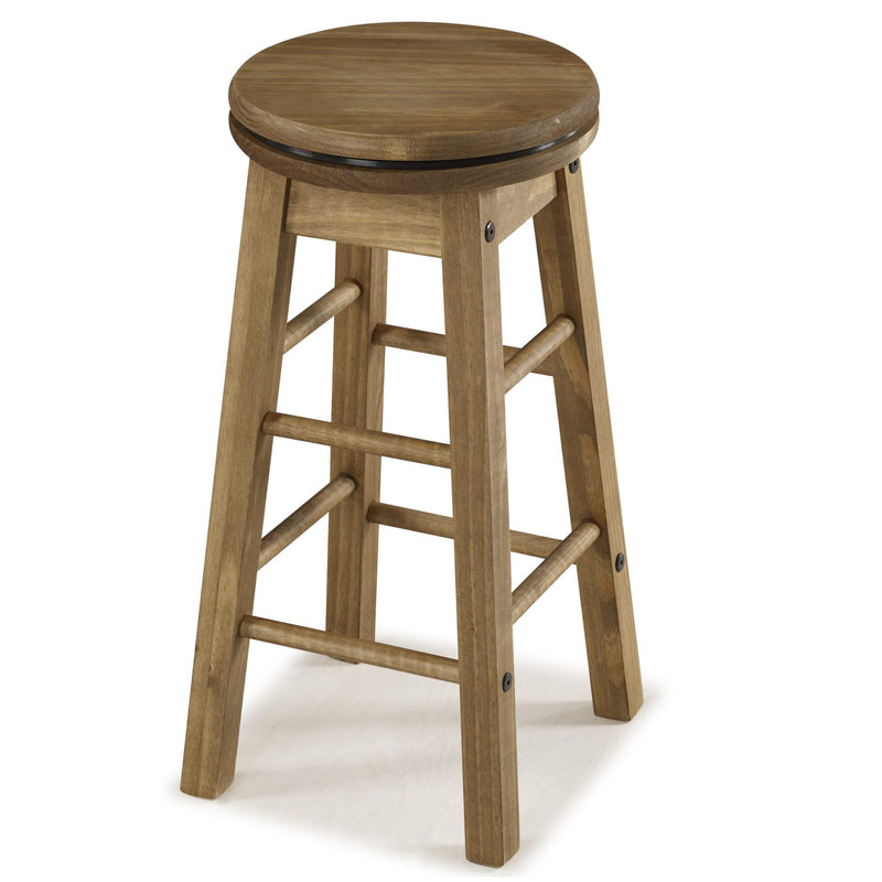 "Bella 24″"" Swivel Bar Stools (x2)"""""