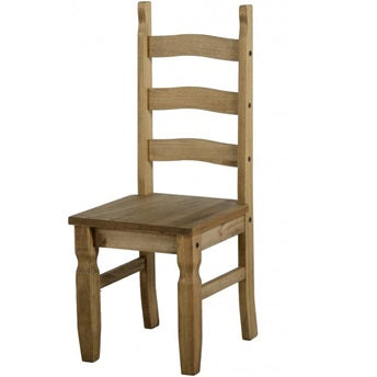 Bella Dining Chairs (x2) – Waxed Pine