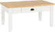 Ludlow Coffee Table in White/Oak Lacquer
