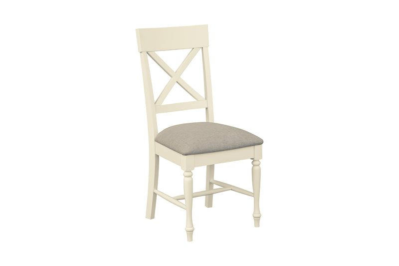 Meghan Oak Dining Chair - Fabric Seat