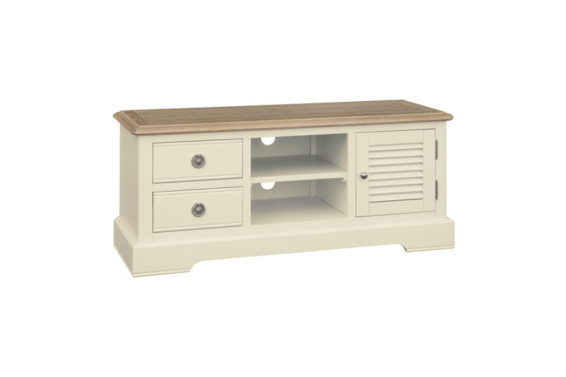 Meghan Oak Wide TV Unit