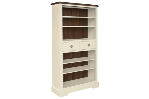 Meghan Walnut Tall Bookcase